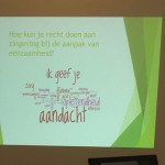 Workshop Eenzaamheid en Zingeving 22-03-2016